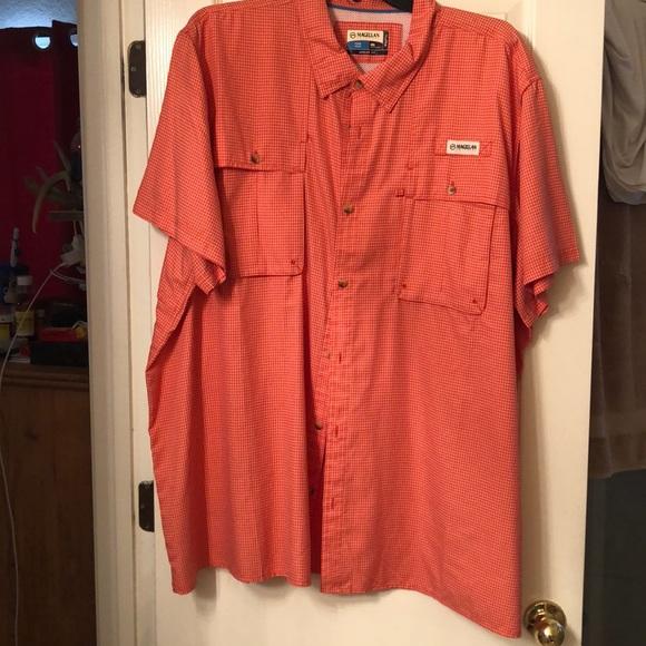Magellan Outdoors Shirts | Short Sleeve Fishing Shirt ...